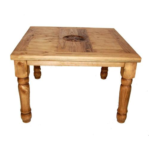 "48"" Square Table W/star On Top"
