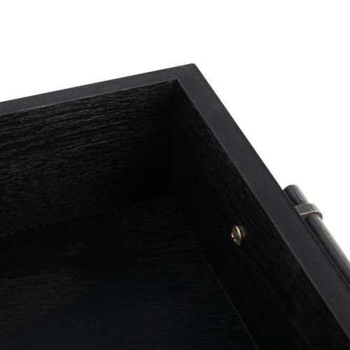 Safavieh - Filbert 3 Drawer Console Table - Black