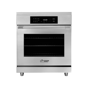 "Dacor30"" Induction Pro Range, Silver Stainless Steel"