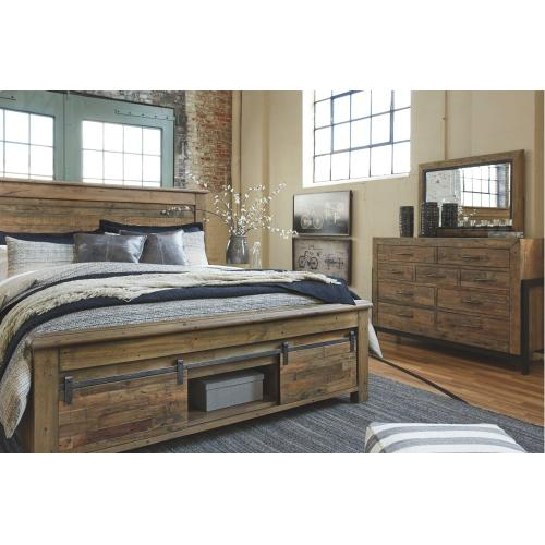 Sommerford California King Panel Bed With Storage