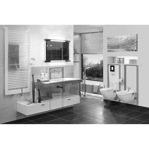 """Rapid Sl 2"""" X 6"""" In Wall Carrier for Bidet"""