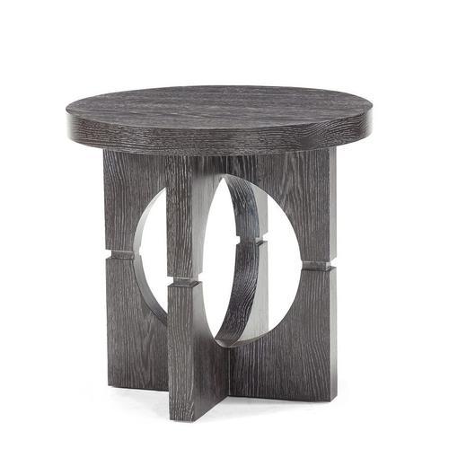 Flint Round Lamp Table