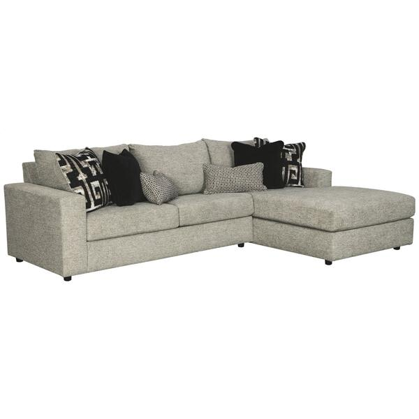 See Details - Ravenstone 2-piece Sectional With Chaise