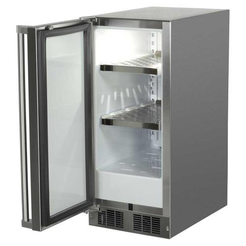 15-In Outdoor Built-In All Refrigerator with Door Swing - Left