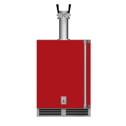 """24"""" Hestan Outdoor Double Faucet Beer Dispenser - GFDS Series - Matador"""