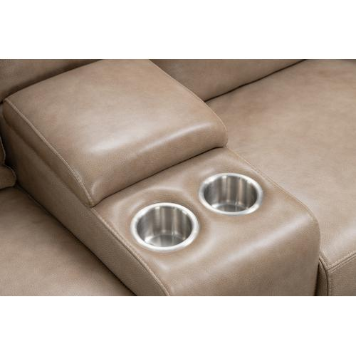 Barca Lounger - Marcello Taupe Loveseat