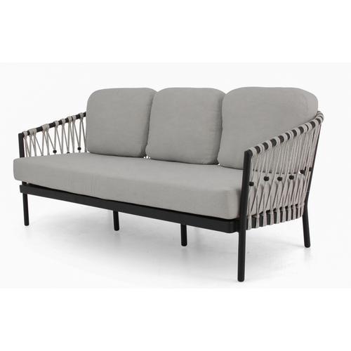 Alfresco Home - MENTON Deep Seating Sofa w/ cushions