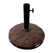 25-Pound Resin Compound Umbrella Base - Chocolate