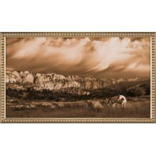 On the Utah Plains-18x32 Canvas