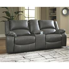 View Product - Calderwell Power Reclining Loveseat With Console