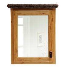 Medicine Cabinet - 33-inch - Natural Hickory - Hinge Right