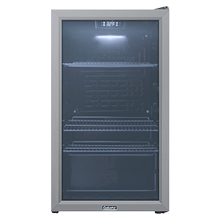 Galanz 3.6 Cu Ft Beverage Cooler in Stainless Steel