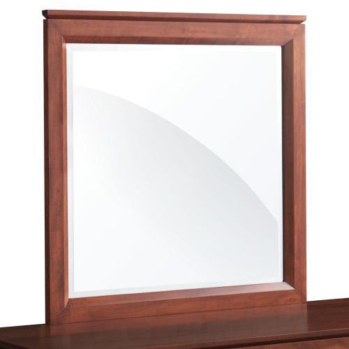 "Simply Amish - Braden Dresser Mirror, 39 ""w x 39""h"