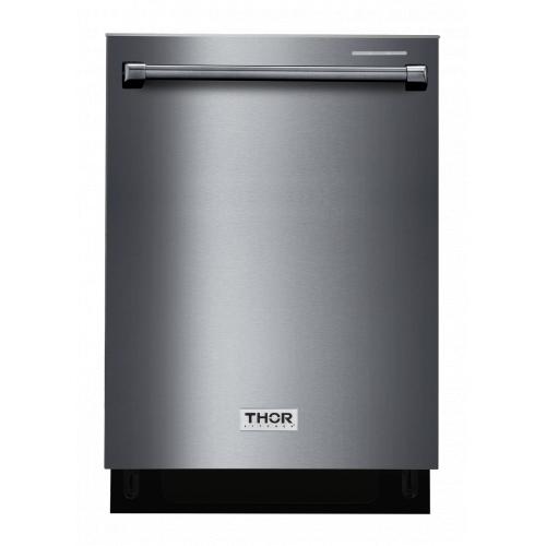 "Thor Kitchen - 24"" Black Stainless Steel Dishwasher"