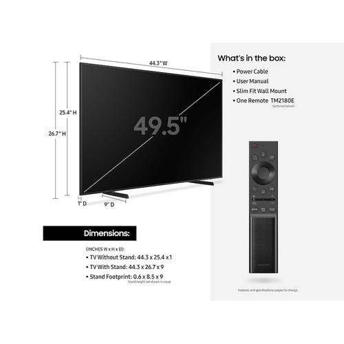 "50"" The Frame QLED 4K Smart TV (2021)"