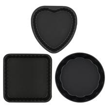 Ballarini La Patisserie 3-pc Nonstick 3-pc Scalloped Cake Pan Set