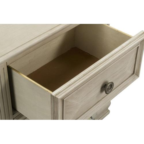 Passages Light 2-Drawer Nightstand, White