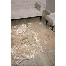 Couture Rug H5020 Beige/silver 5' X 7' Throw Rug