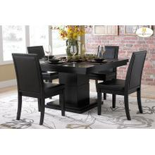 See Details - 5PC SET (Dining Table with 4 Chairs)