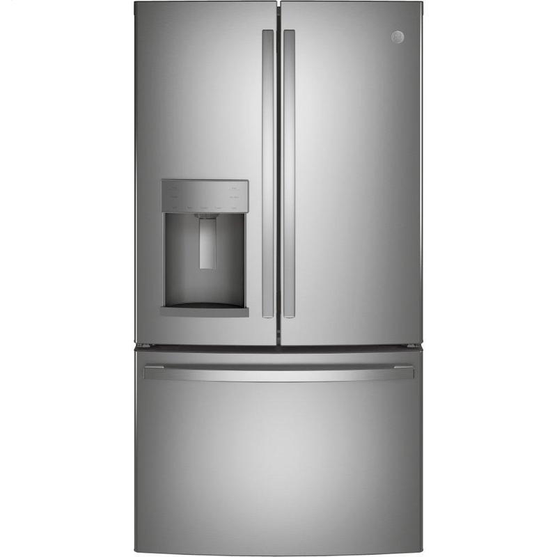 GE® ENERGY STAR® 27.7 Cu. Ft. Fingerprint Resistant French-Door Refrigerator