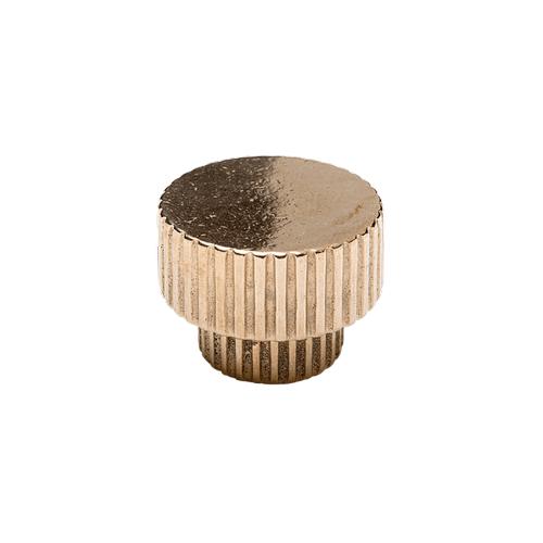 Rocky Mountain Hardware - Flute Large Knob - CK10015 Silicon Bronze Light