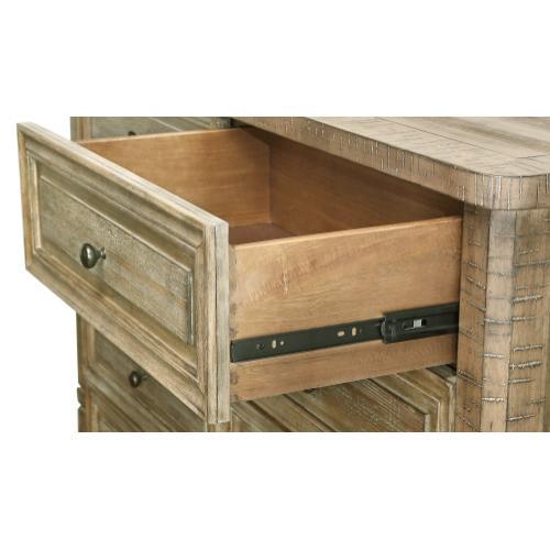 Emerald Home Furnishings - Emerald Home Kennewick 8 Drawer Dresser Weathered Pine B561-01