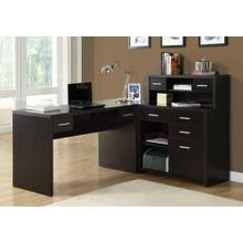 COMPUTER DESK - ESPRESSO LEFT OR RIGHT FACING CORNER