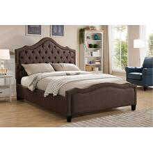 7572 Fabric Platform Bed - QUEEN