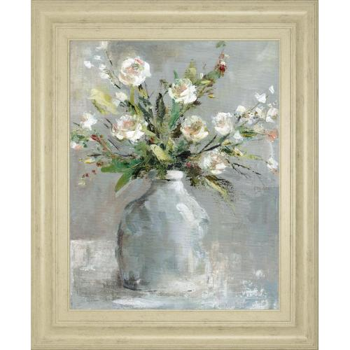 """Country Bouquet I"" By Carol Robinson Framed Print Wall Art"