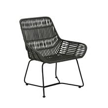 6731569 - Chair 68,5x64x78 cm PETUNG rattan olive green