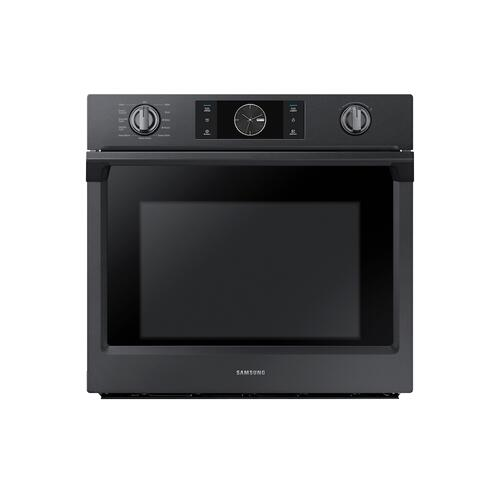 "30"" Smart Single Wall Oven with Flex Duo™ in Black Stainless Steel"