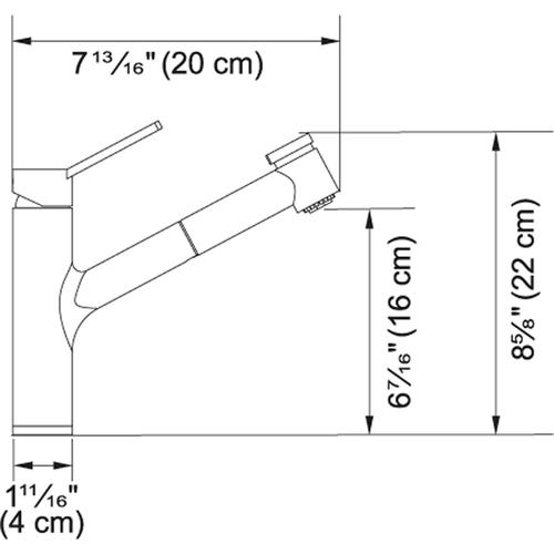 Ambient FFPS3180 Satin Nickel