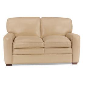 Stevens Leather Love Seat