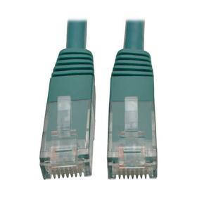 Cat6 Gigabit Molded (UTP) Ethernet Cable (RJ45 M/M), Green, 12 ft. (3.66 m)