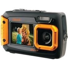 20.0-Megapixel Duo2 Dual-Screen Waterproof Digital Camera (Orange)