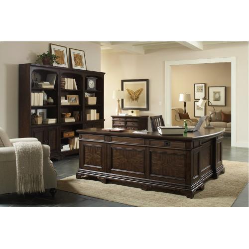 """Aspen Furniture - 66"""" Curved Desk for Return"""