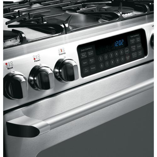 """GE Cafe™ 30"""" Free-Standing Range with Baking Drawer"""