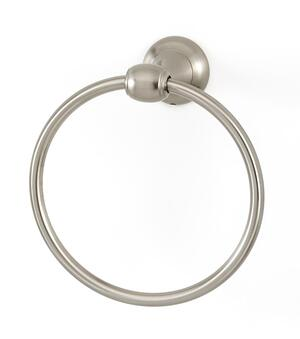 Royale Towel Ring A6640 - Unlacquered Brass Product Image