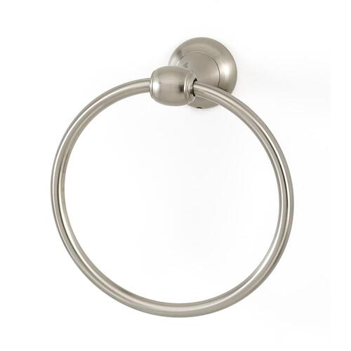 Royale Towel Ring A6640 - Unlacquered Brass