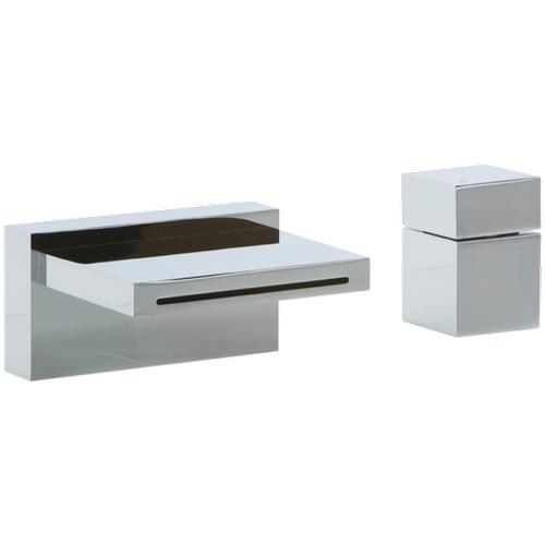 Quarto Deck Mount Tub Filler and Cube Control