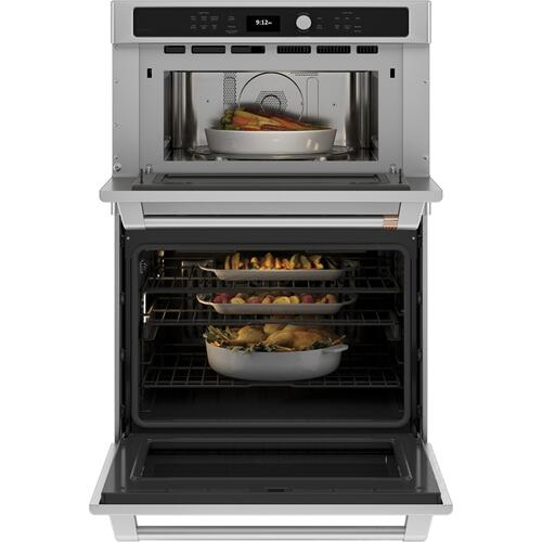 Cafe - Café™ 30 in. Combination Double Wall Oven with Convection and Advantium® Technology