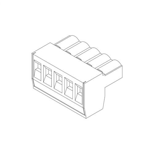 JL Audio - Replacement Power Plug (5 Pole) for FiX / TwK