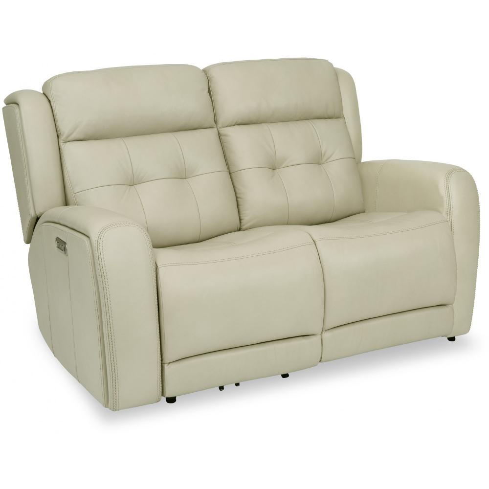 Grant Power Reclining Loveseat with Power Headrests