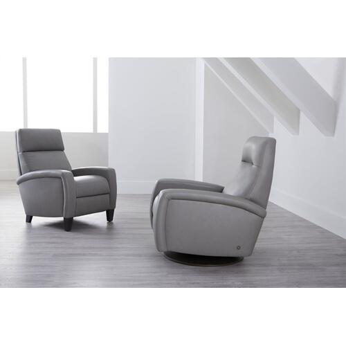 Dexter Contemporary Swivel Recliner - American Leather
