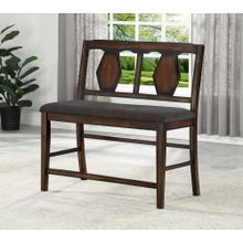 8748 Counter Height Love Bench