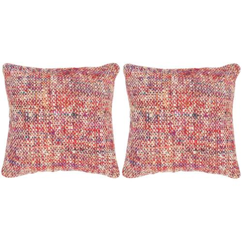 Carrie Pillow - Candy Red
