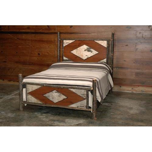 425 Birch Bark Bed (Queen Shown)