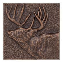 """See Details - Buck 8"""" X 8"""" Indoor Outdoor Wall Décor"""