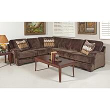 See Details - Olympian Chocolate / Padma Otter Sectional