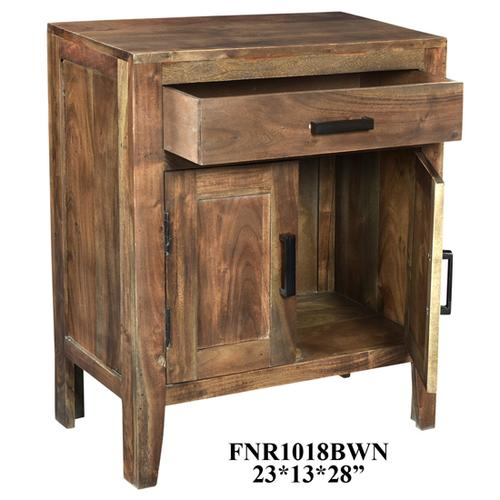 Product Image - 23X13X28 SOLID ACACIA WOOD ACCENT CABINET, 1 PC/ 6.51'